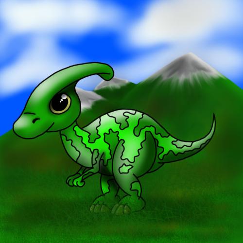 Serie Lil Dino - Parasaurolophus