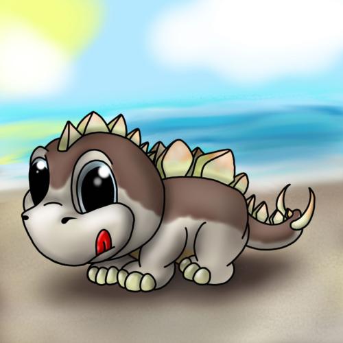 Serie Lil Dino - Stegosauro