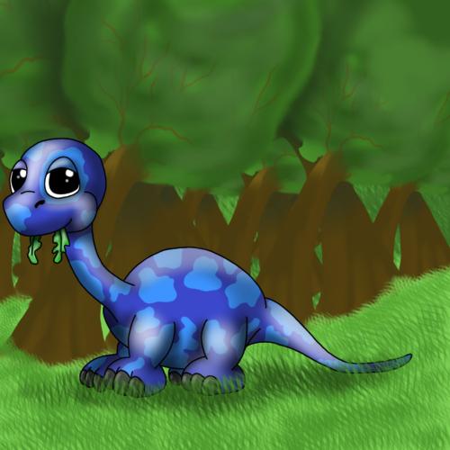 Serie Lil Dino - Diplodocus