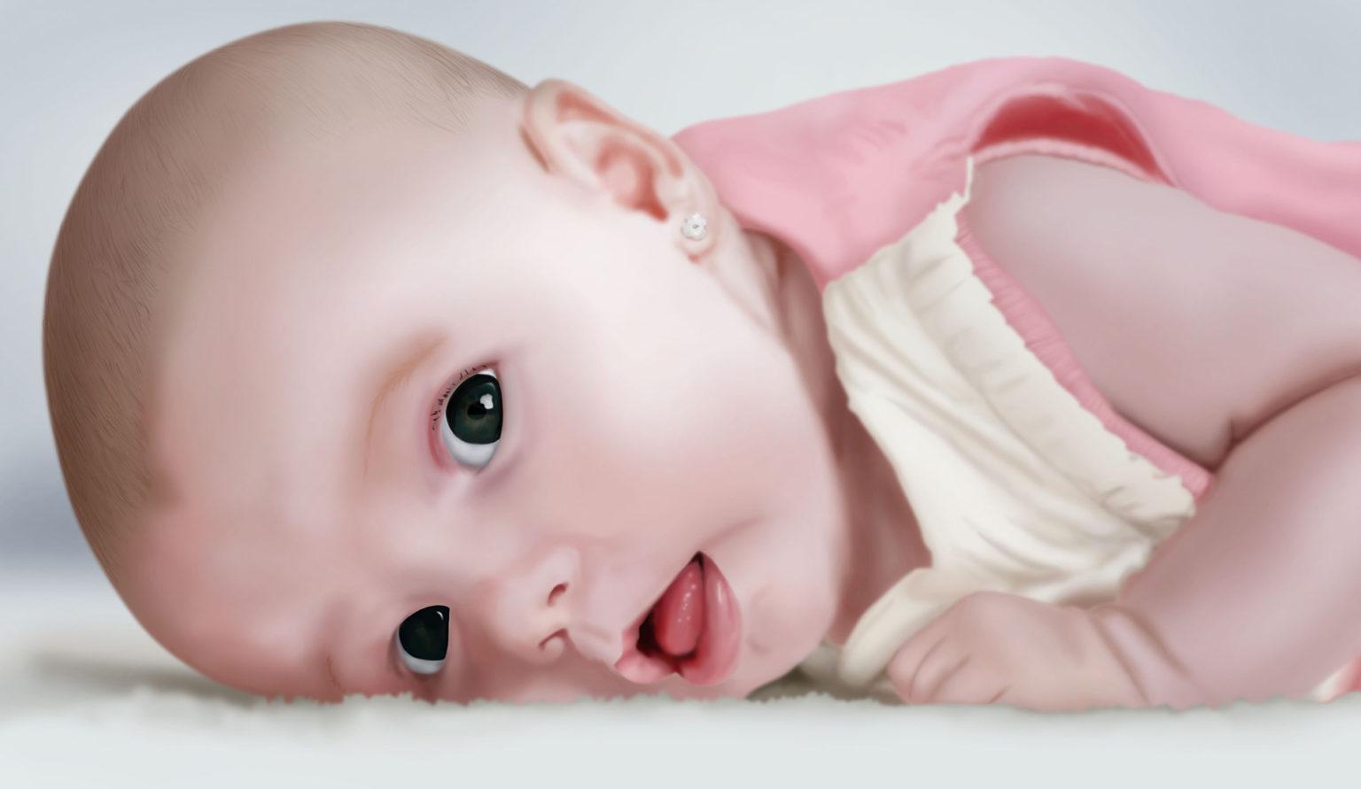 Retrato Bebé