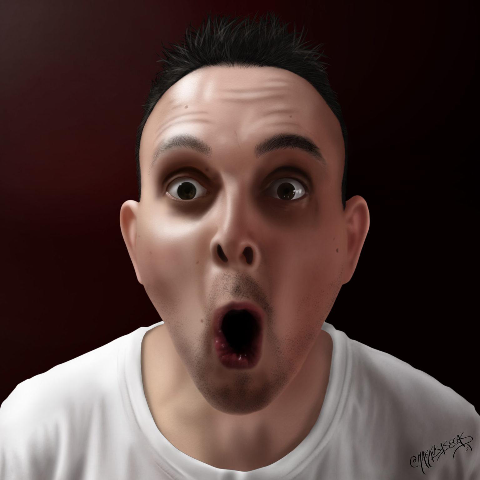 """Retrato """"Ohhh"""""""