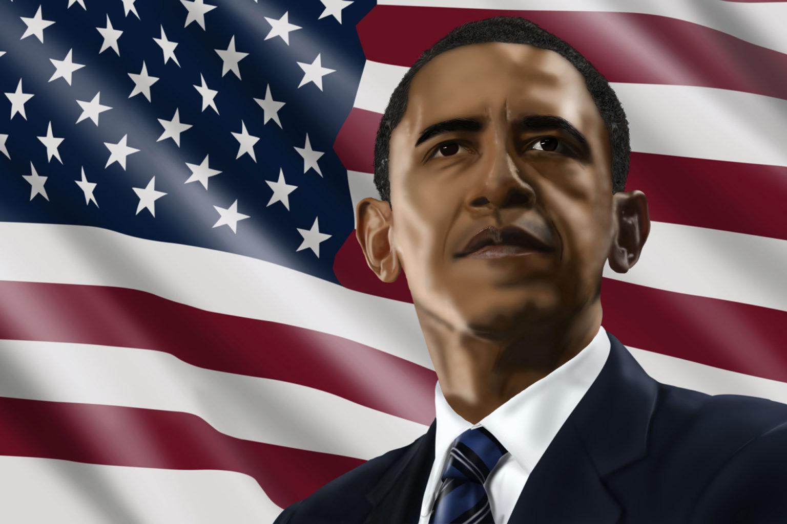 Retrato Obama
