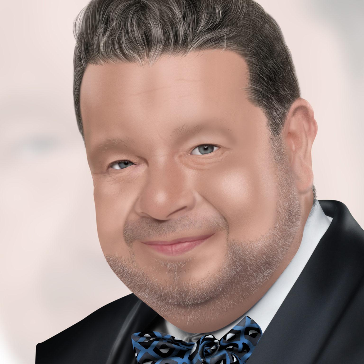 Retrato de Alberto Chicote
