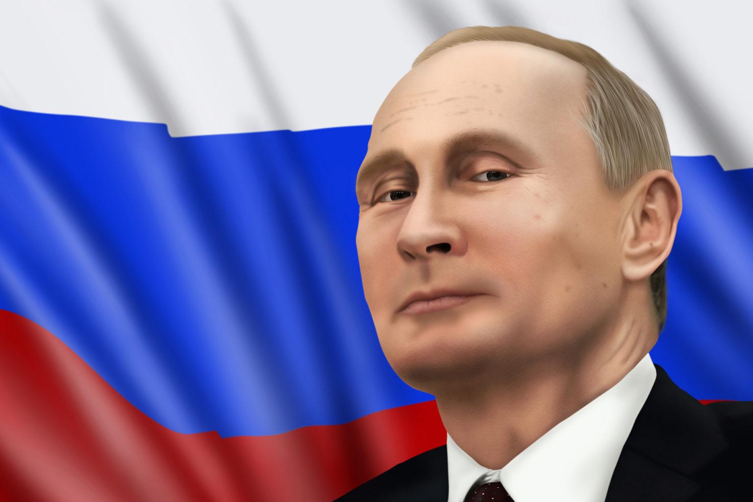 Retrato Putin