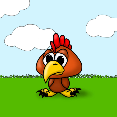 Serie Lil Farm Friends - Gallina