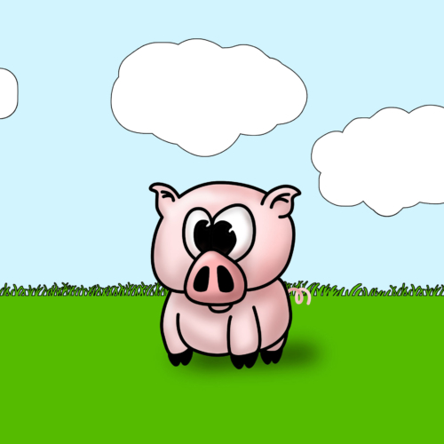 Serie Lil Farm Friends - Cerdito