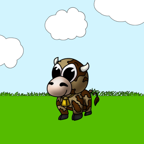 Serie Lil Farm Friends - Vaca