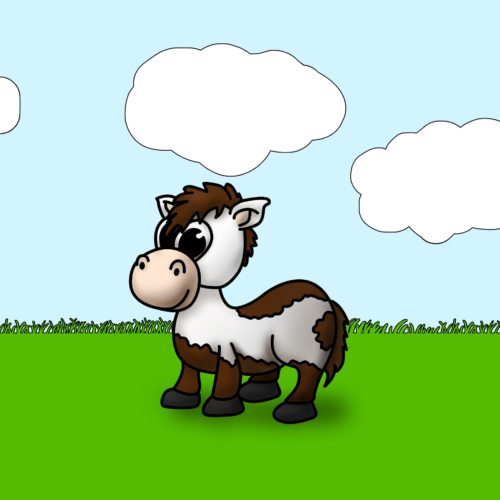 Serie Lil Farm Friends - Caballo