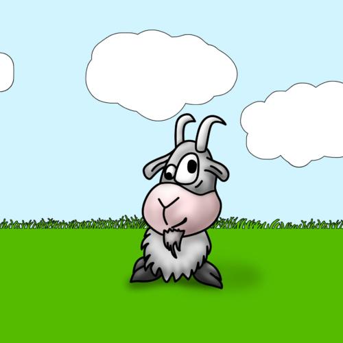 Serie Lil Farm Friends - Cabra