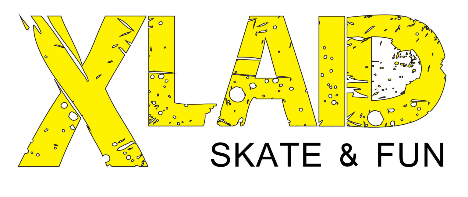 logotipo XLaid Skate and fun
