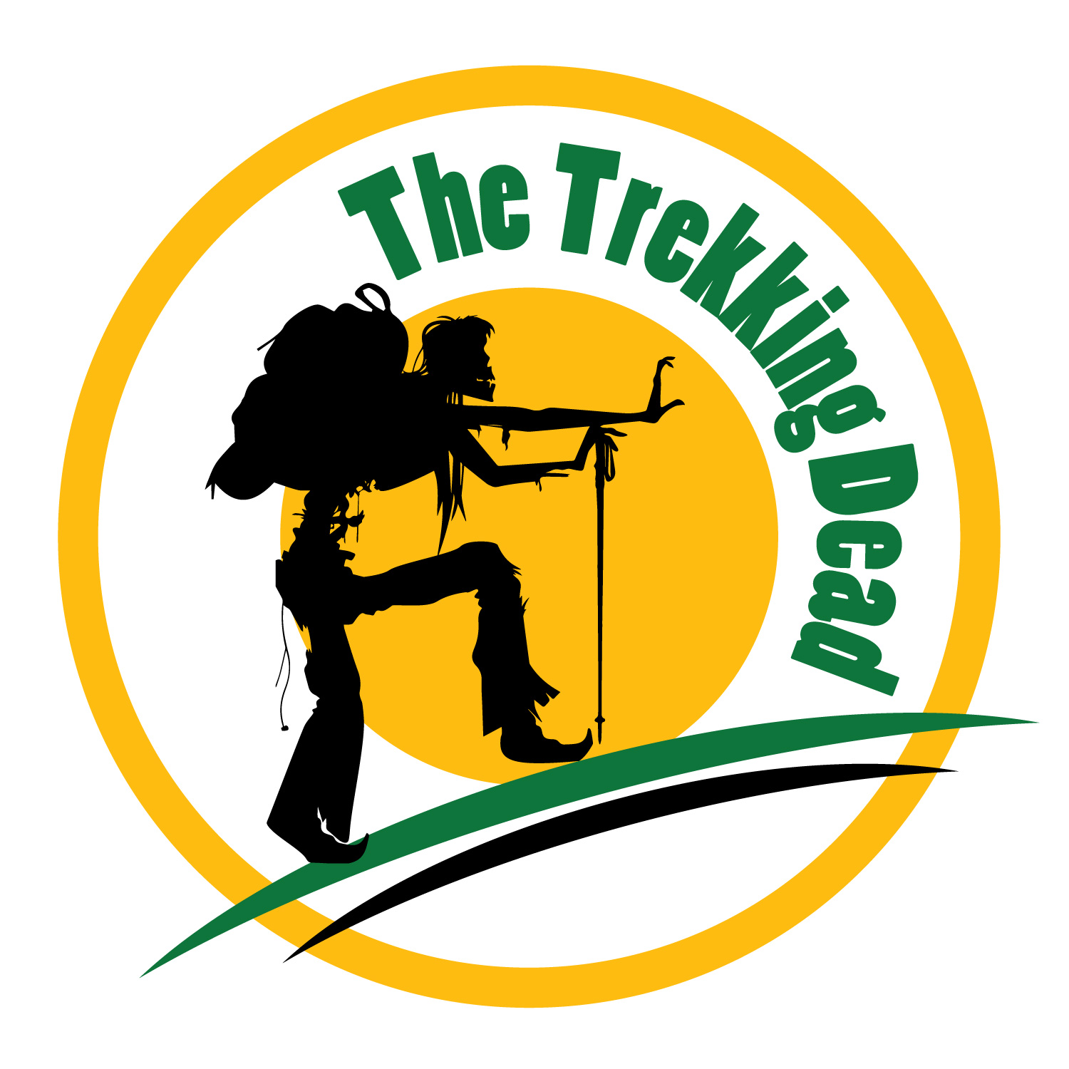 Logo The Trekking dead